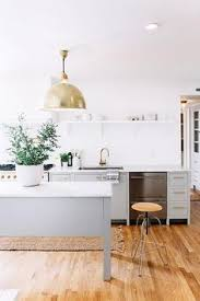 Gray Kitchen Island White And Gray Kitchen Features A Gray Freestanding Island Topped
