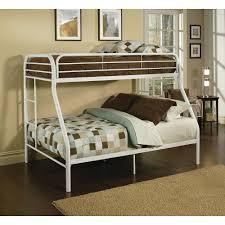 Acme Furniture Tritan Twin Over Full Metal Kids Bunk BedWH - Kids bunk beds furniture