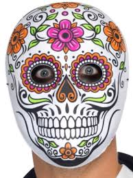 day of the dead masks senor bones mask partynutters uk