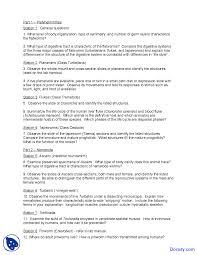 platyhelminthes zoology quiz docsity