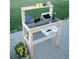 Wooden Potting Benches Potting Benches Tables Durable Potting Benches
