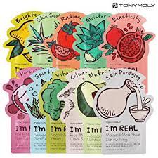 toni moli tonymoly s i m real sheet masks 11 pack co uk beauty