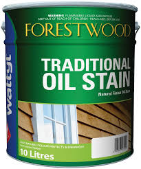 forestwood stain mission brown 10l