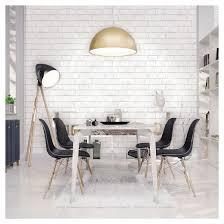 devine color textured brick peel u0026 stick wallpaper white target