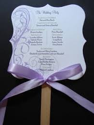 Hand Fan Wedding Programs Flourish Program Fans 25 Pcs Wedding Hand Fans Program Fans