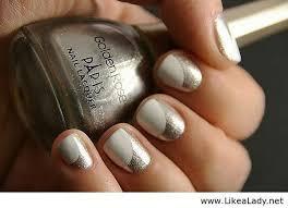 60 stunning half moon nail designs tutorials