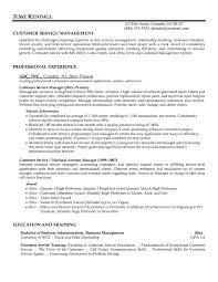 Business Manager Resume Example by Customer Service Manager Resume Resume Cover Letter Template