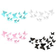 popular 3d butterfly wall art diy buy cheap 3d butterfly wall art 12pcs waterproof 3d butterflies wall sticker home decorations wall art decal butterfly stickers baby room diy