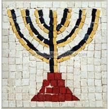 children s menorah children s kit menorah mosaic holy land christian gifts