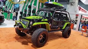 modified jeep 2017 sema 2017 review in pictures best bits of the tuning madness by car