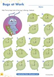Free Math Facts Worksheets Math Facts Subtraction Worksheets Aprita Com