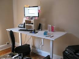 Ergonomic Standing Desk Setup My Standing Desk By Brian M Curran Draftingservices