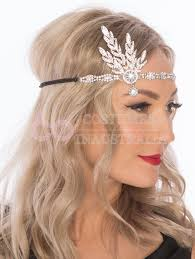 1920s headband 20s 1920s headband vintage bridal great gatsby headpiece costume