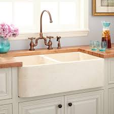 deep farmhouse sink signature hardware