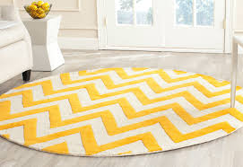 Round Yellow Rug Flooring Chelsea Checked Area Rug By Safavieh Rugs For Flooring