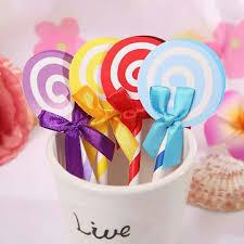 lollipop party favors 6pcs lollipop party supplies cupcake toppers picks decoration