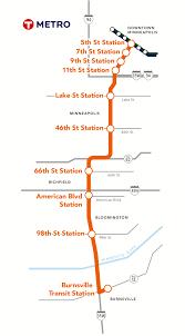 Minneapolis Metro Map by Metro Orange Line More Than The Sum Of Its Parts Metro Transit