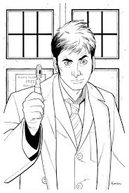 1000 images about doctor who coloring pages on pinterest tenth