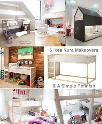 6 simple to insane ikea kura makeovers domestic design