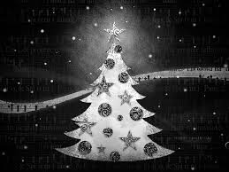 black and white christmas wallpaper textured christmas tree in black wallpaper 1920 1600 19 wallcoo net