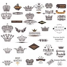 crown designs collection vector free