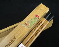 personalized chopsticks personalized chopstick box with chopsticks