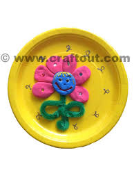 Decorated Paper Decorated Paper Plates Craft Out