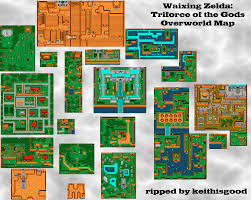 The Legend Of Zelda A Link Between Worlds Map by Keith Is Good