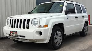 white jeep patriot 2017 2009 jeep patriot north 4wd automatic power windows u0026 locks