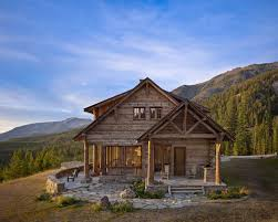 Two Story Log Homes by Log Truss Houzz