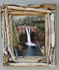 driftwood frame 8x10 picture frame driftwood home decor