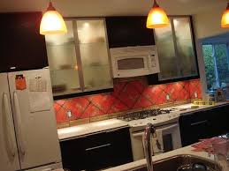 Decoupage Kitchen Cabinets Flickr Finds Diy Decoupage Backsplash Apartment Therapy