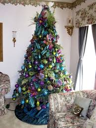 peacock decorated tree search