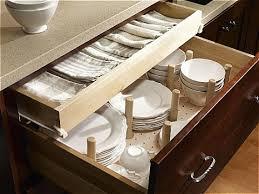 Kitchen Cabinet Inserts Organizers Kitchen Drawer Plate Organizers Chest Of Drawers
