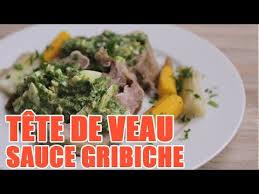 cuisiner une tete de veau recette de la tête de veau à l ancienne sauce gribiche