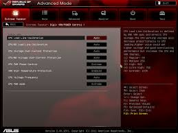 asus crosshair v formula u2013 bios and overclocking 990fx