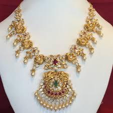 necklace sets designs images Designer pachi necklace set jpg