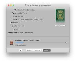 chapters thanksgiving hours audiobook builder create audiobooks on your mac