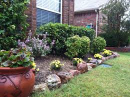 outstanding front yard landscape ideas without grass pictures