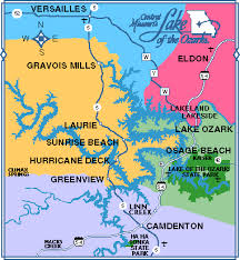ozarks map midwestsailing