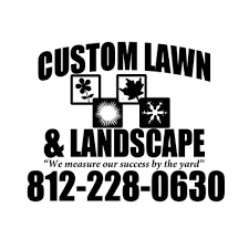Landscaping Evansville In by Custom Lawn U0026 Landscape Snow Removal 1680 Broadmoor Ave