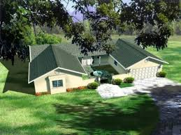 u shaped ranch houses houseplans com house plans with l front