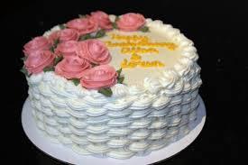 buttercream roses cake by olivia