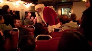 polar express train ride to see santa youtube