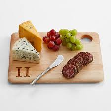 monogram cheese board monogrammed cheese board set personal creations