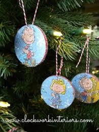 kid friendly ornaments made with target 1 wood slices