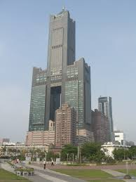 tuntex sky tower in kaohsiung city taiwan buildings pinterest