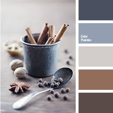 colour of steel and cinnamon will look nice in the room where the