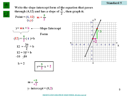converting standard form to slope intercept form worksheet worksheets