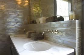 bathroom backsplash designs excellent glass tile backsplash in bathroom design 4097